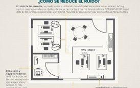 Lograr el mayor confort acústico en la oficina (infografía)