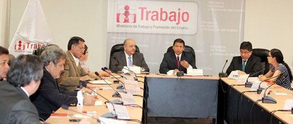Piden dinamizar el Consejo Nacional de Seguridad y Salud en el Trabajo de Perú