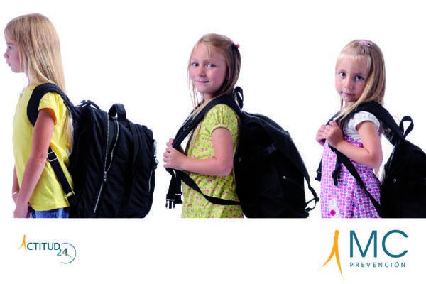 Mochila escolar ¿cómo prevenir el dolor de espalda en los jóvenes?
