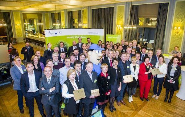Acto de reconocimiento a las mejores empresas y organizaciones europeas en gestión del estrés en el lugar de trabajo
