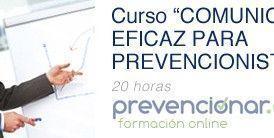 Comunicación eficaz para prevencionistas (Curso OnLine)
