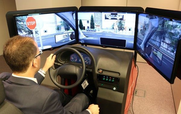 Indra recibe el Premio Prever por el simulador para la formación en seguridad vial