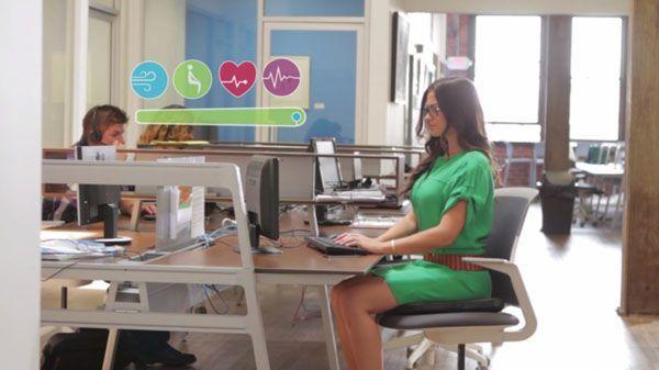 Un cojín inteligente que monitoriza el estrés y te regaña por sentarte mal