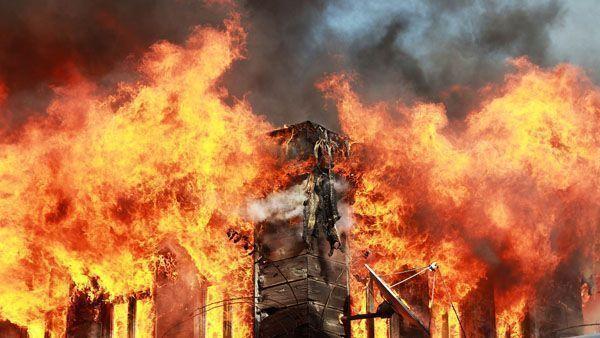 Método para evaluar el riesgo de incendios en edificios