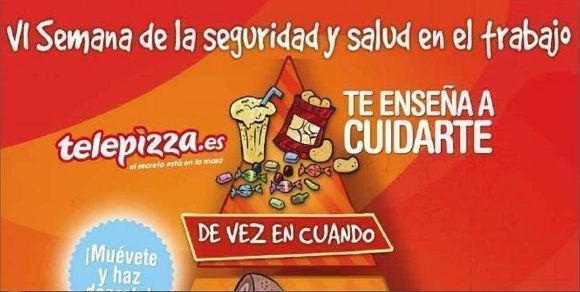 """Grupo Telepizza celebró su """"VI Semana Nacional de la Prevención de Riesgos Laborales"""""""