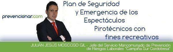 Plan de Seguridad y Emergencia de los Espectáculos Pirotécnicos con fines recreativos
