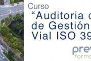 Curso OnLine: Auditorías de Sistemas de Gestión de la Seguridad Vial – ISO 39001
