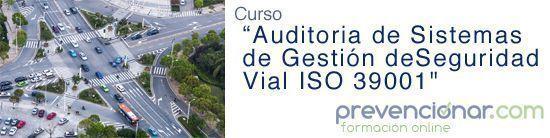 Curso OnLine: Auditorías de Sistemas de Gestión de la Seguridad Vial - ISO 39001