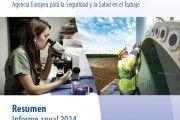 Informe anual 2014 de la EU-OSHA