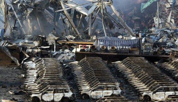 Brutales imágenes de de las explosiones de Tianjin en China
