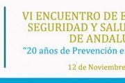 VI Encuentro de Expertos en Seguridad y Salud Laboral de Andalucía
