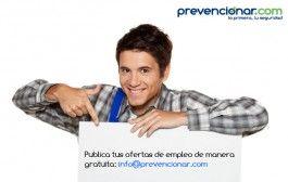 Empleo en Prevencionar: Técnico/a de PRL (30.000 €)