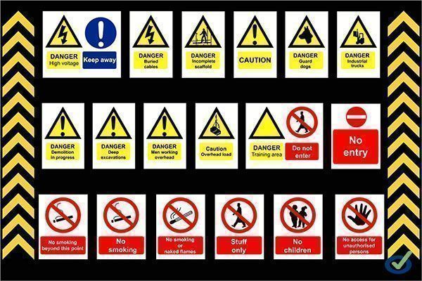 Real Decreto 485/1997, de 14 de abril, sobre disposiciones mínimas en materia de señalización de seguridad y salud en el trabajo