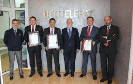 BENTELER Automotive certifica sus plantas de fabricación del Sur de Europa