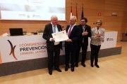 Umivale recibe la Cruz de Honor de la Seguridad y Salud en el Trabajo