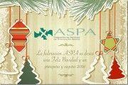 La federación ASPA os desea una Feliz Navidad y un próspero y seguro 2016