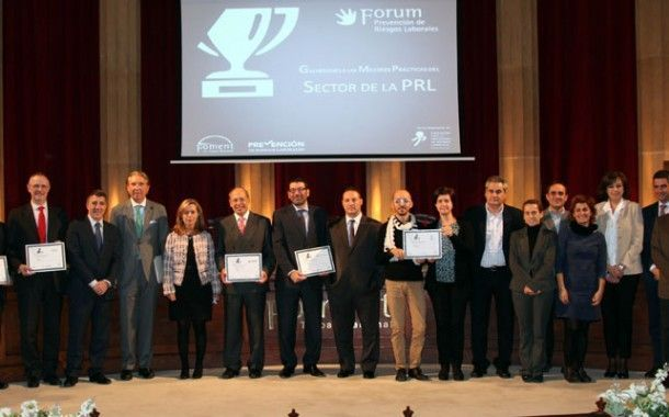 El Forum PRL de Foment entrega sus galardones a las mejores prácticas en el sector de la prevención de riesgos laborales