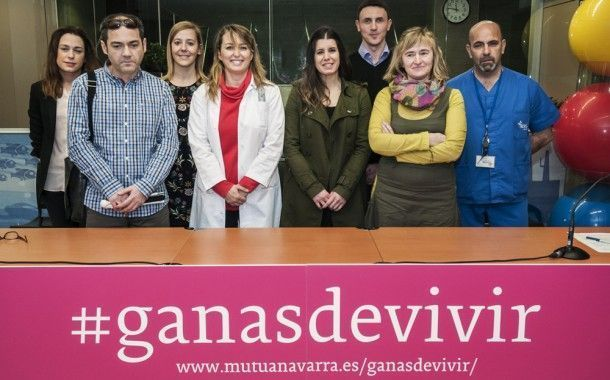 Mutua Navarra ha presentado su proyecto Ganas de Vivir, historias de personas que miran la vida de frente