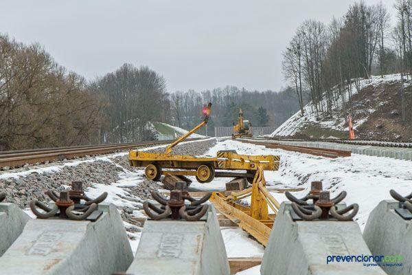 Guía para el desarrollo de buenas prácticas de PRL en trabajos ferroviarios