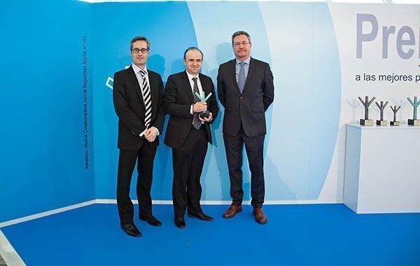 Faurecia Automotive Exteriors España, galardonada en la IV Edición de los Premios Asepeyo