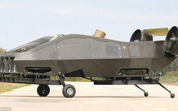 AirMule, el primer dron ambulancia