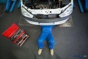 Seguridad y salud en el taller mecánico de vehículos de motor