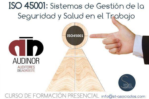 El Colegio Oficial de Ingenieros de Minas del Noroeste de España acoge el 1ER curso ISO 45001 en Asturias