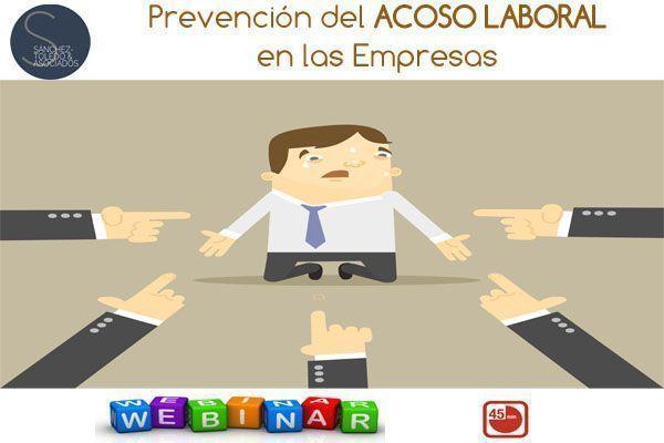 Webinar: Prevención del Acoso Laboral en las Empresas