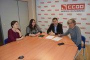 FSC-CCOO y Prevencionar firman un acuerdo para fomentar la seguridad y salud en el trabajo