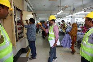 Factory Visit. Bando Apparels Ltd. Mohammadpur Beri Badh.