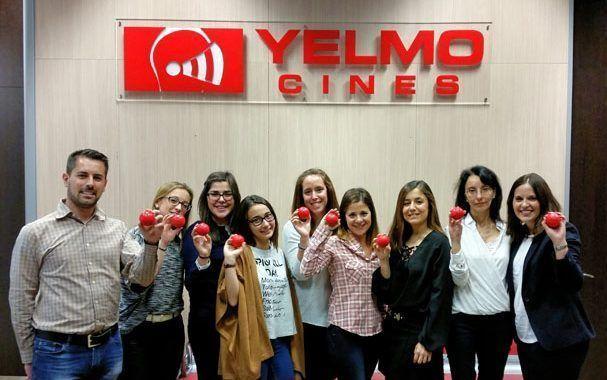 YELMO CINES celebró el Día Mundial de la Seguridad en el Trabajo