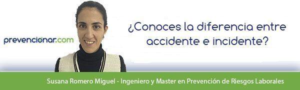 ¿Conoces la diferencia entre accidente e incidente?