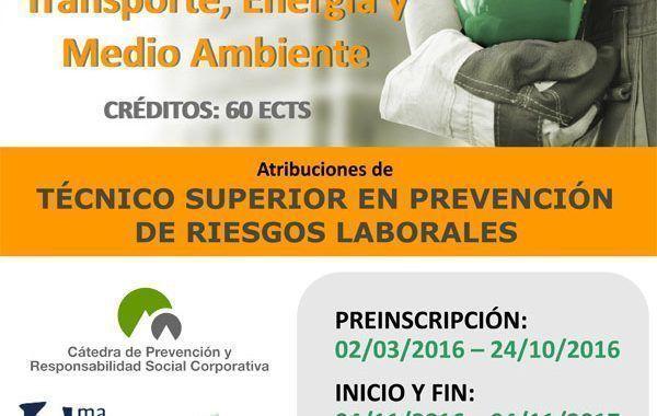 IV Máster Propio Andalucía Tech en Transporte, Energía y Medio Ambiente