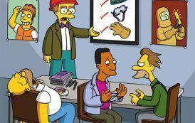 Los Simpsons llegan a Prevencionar