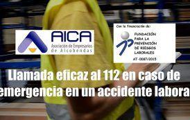Cómo hacer una llamada eficaz al 112 en caso de emergencia en un accidente laboral
