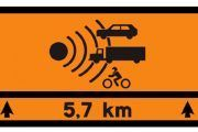 Nueva señalización: tramos de carretera especialmente peligrosos