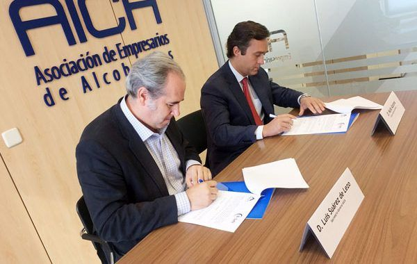 AICA y B+SAFE firman un acuerdo para mejorar la salud y la seguridad de las empresas de Alcobendas