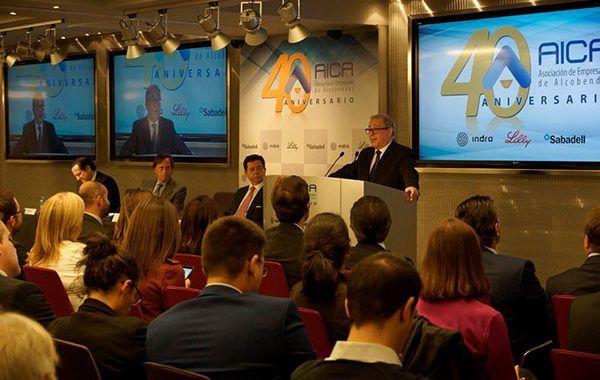 La Asociación de Empresarios de Alcobendas AICA celebra su 40 aniversario