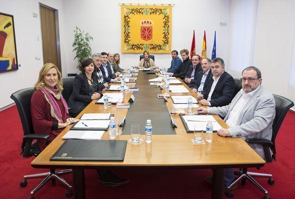 Navarra se solidariza con las familias de las víctimas de accidentes de trabajo