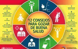 12 Consejos para gozar de buena salud
