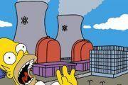 Los Simpsons realizan un simulacro