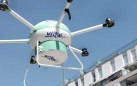 vittal dron, una nueva forma de salvar vidas