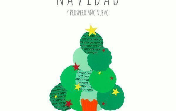 Grupo OTP les desea  Feliz Navidad y Próspero Año Nuevo