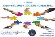 Últimos días de Matricula: Curso Experto TRI-NORMAS (ISO 9001+ISO 14001+OHSAS 18001)