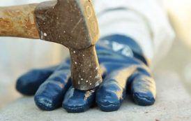 Crean el guante anti accidentes