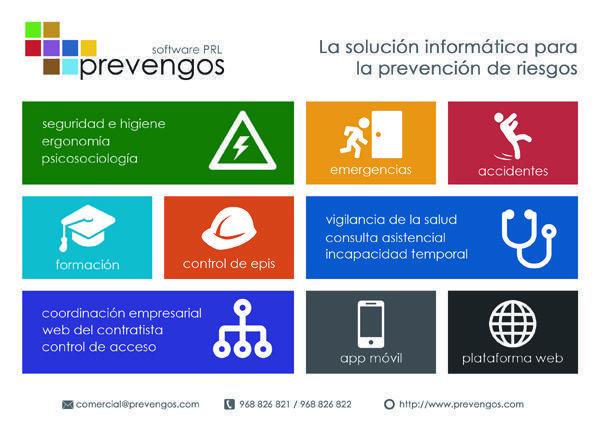 ¿Conoces la solución informática para la prevención de riesgos?
