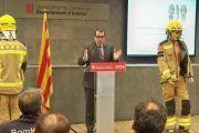 Nuevos uniformes con más protección para los bomberos catalanes