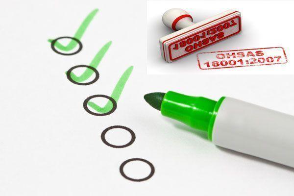 checklist ohsas