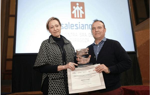"""El colegio Salesiano de Zaragoza galardonado con el Primer Premio en el VI Premio """"Aragón comprometido con la prevención"""""""