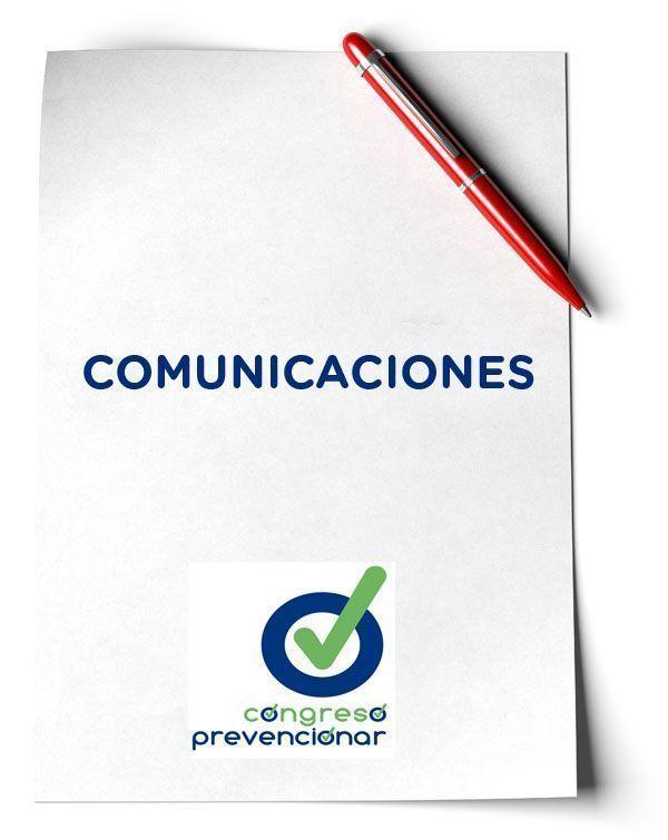 Presentación de comunicaciones al Congreso Prevencionar